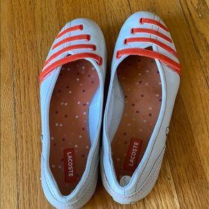 La Coste Flat Shoes Size 7 1/2